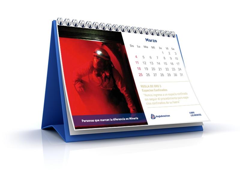 Calendario AngloAmerican