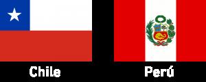 Banderas chile peru