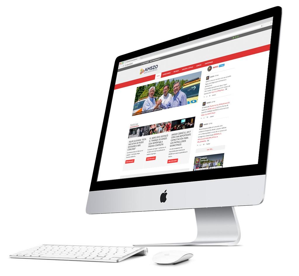 Sitio Web AMSZO