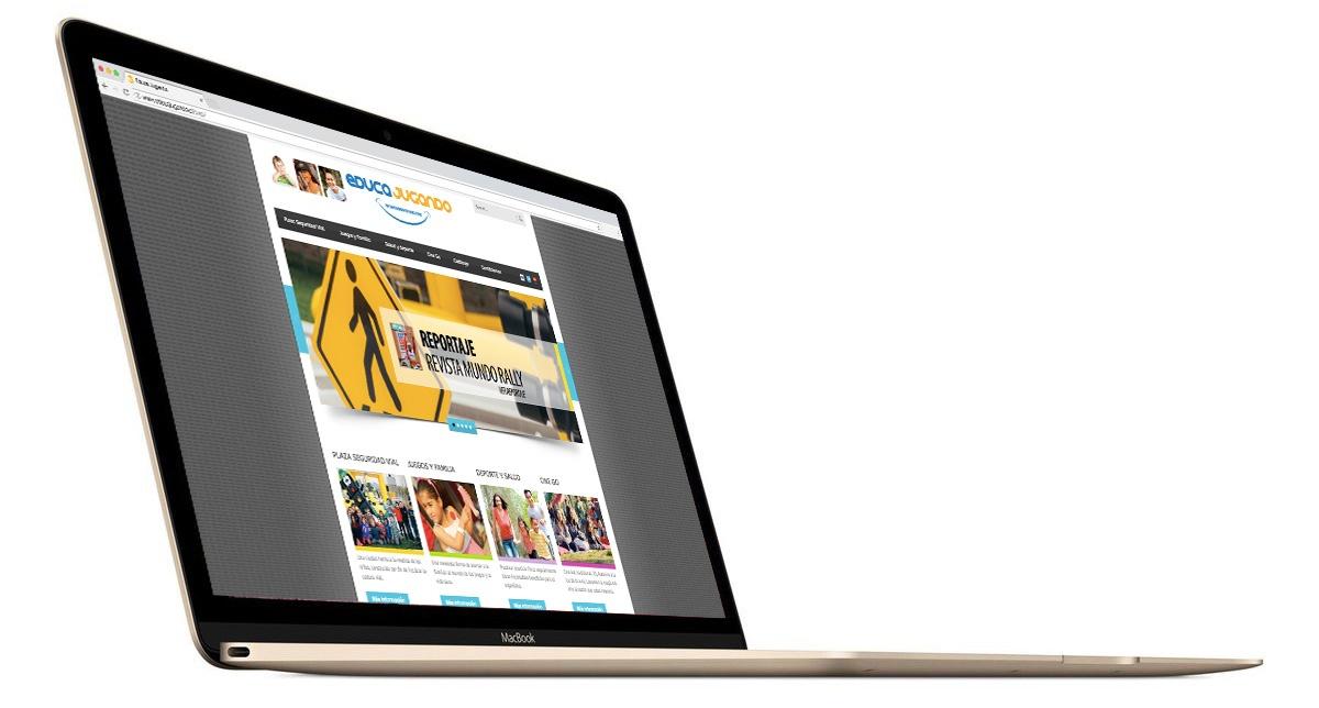 Sitio Web Educa Jugando